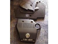 VW GOLF 1.6 SR ENGINE COVERS PLASTIC £20 THE LOT!