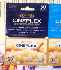 LOOKING TO BUY CINEPLEX GIFT CARD/PASS