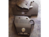 VW GOLF 1.6 SR ENGINE COVERS PLASTIC £25 THE LOT!