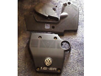 VW GOLF 1.6 SR ENGINE COVERS PLASTIC £20 THE LOT!