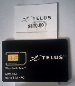 TELUS - $100 and SIM $20 for ONLY $50