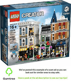 LEGO 10255 ASSEMBLY SQUARE 10th ANNIVERSARY MODULAR BUILDING SERIES