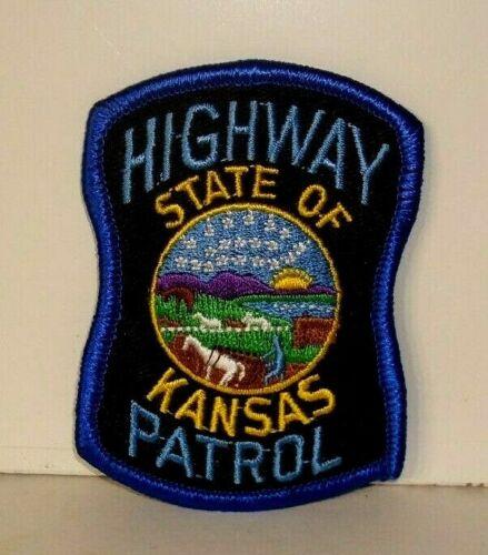 KANSAS  HIGHWAY PATROL   POLICE OFFICER  patch