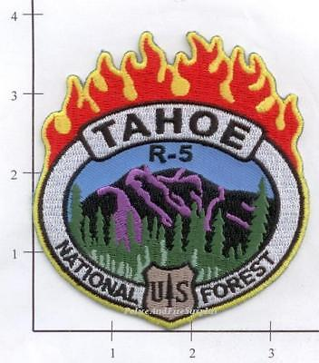 California - Tahoe Region 5 US Foresty Service CA Dept Fire Patch