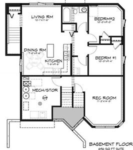 2 Bedroom Suite Available for Rent in Hampton Village