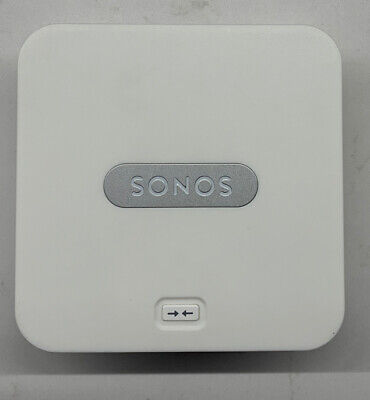 Sonos BRIDGE Wireless HiFi System, Color White, with Power & Ethernet Cable