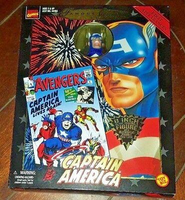 NIP Famous Cover Series -CAPTAIN AMERICA- 8