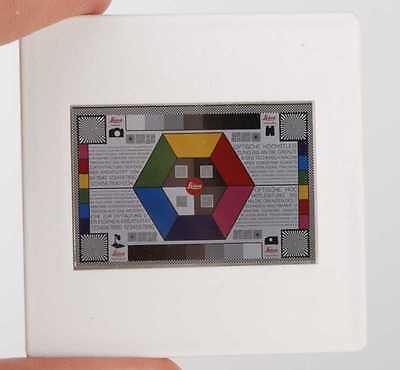 Leitz Leica Test-Dia Test Slides Diapo-tests - 2 Stück zur Vergleichsprojektion