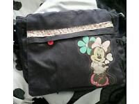 Minnie mouse nappy bag