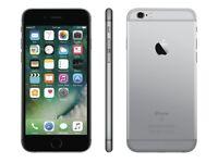 iPHONE 6S 16GB, SHOP RECEIPT & WARRANTY, GREY, EE & 02