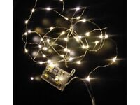 Job Lot - Rice Wire Fairy Lights (warm white)