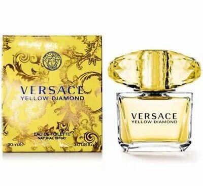 Versace Yellow Diamond 90ml Eau De Toilette Spray Brand New & Sealed