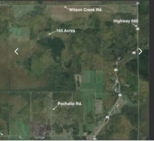 Rare 160 acre lot in Ontario
