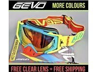 Motocross goggles off road enduro racing xmas gift Ktm Yamaha pit bike