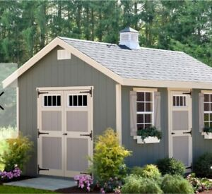 Solid 8x10 shed