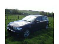 BMW 1 series 2.0L diesel 5drs 56plate