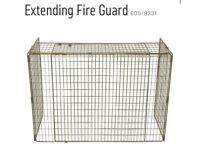 Fire guard- brown metal