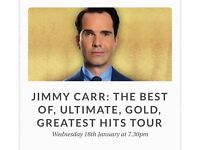 1x Jimmy Card Ticket - The Best Of - Stalls F26 (STOCKPORT PLAZA)