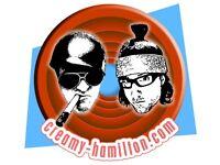 Creamy Hamilton Printing Services: bespoke sticker design, wall art, car decals, apparel, signage