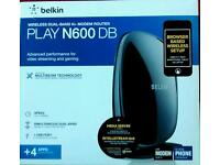 Play N600 DB Wireless Dual-Band N+ Router *BRAND NEW SEALED IN THE BOX*