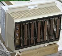 "GE USA Air conditioner climatiseur AC mince profondeur=7"" RETRO"