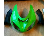 Zx10r 06 nose cone and dash panels