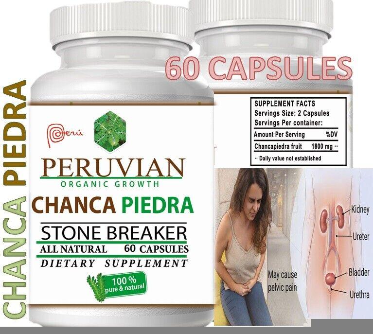 Chanca Piedra chancapiedra 1000mg 120 tab-cap Peruvian material Stone Breaker 2 11