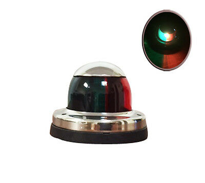 Pactrade Marine Boat Pontoon Boat S.S. LED Red Green Navigation Stern Bow Light