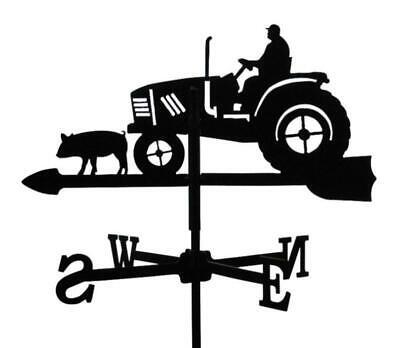 Standard Tractor Metal Weathervane (Post Fixing Bracket)