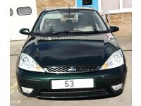 Cheap Ford Focus 1.8 Tdci Ghia 5 Door Long Mot 60Mpg Low Insurance Like corsa astra fiesta corolla