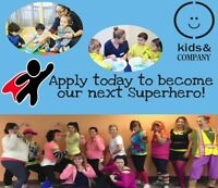 READY FOR AN EXCITING & FUN CAREER IN CHILDCARE? APPLY NOW!!