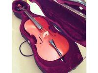 3/4 Cello and hard case