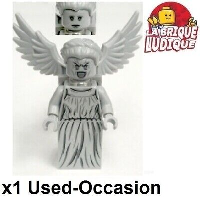 LEGO Figurine Minifig Ideas Doctor Who Statue Wing Weeping Angel idea023 Used
