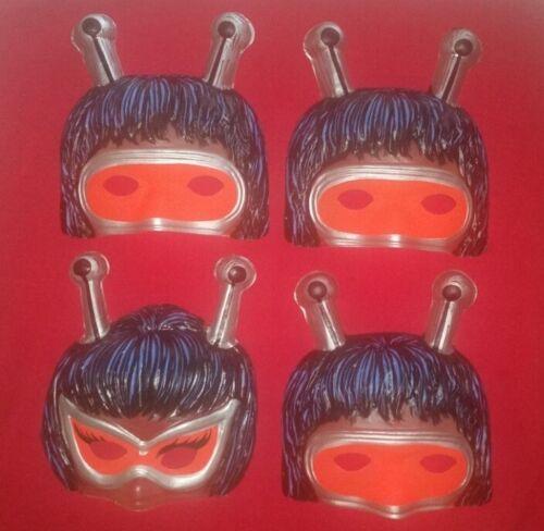 1971 Ben Cooper BUGALOOS Halloween Masks Lot - Sid & Marty Krofft TV Show