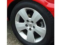 "16"" vauxhaull alloys"