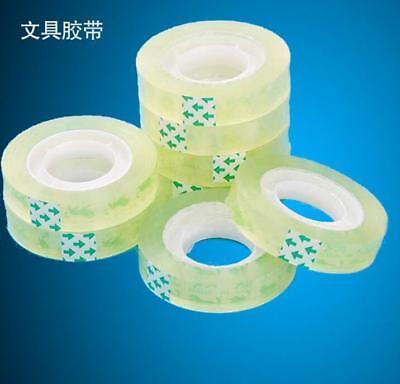 Sellotape 12mm X 30m Sticky Clear Transparent Tape Mini Small Rolls
