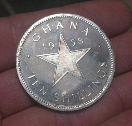 Ghana - 1958 Proof Silver 10 Shillings - Scarce