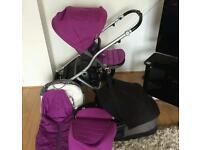 Britax affinity travel system pram pushchair