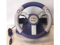 Nintendo Gamecube X Racer steering wheel A1!
