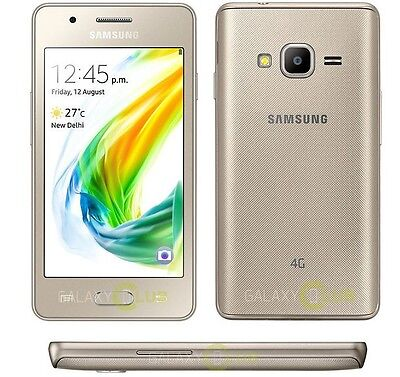 BRAND NEW SAMSUNG Z2 TIZEN GOLD *4G LTE* 8GB  UNLOCK SMART PHONE WITH LED FLASH for sale  Shipping to South Africa