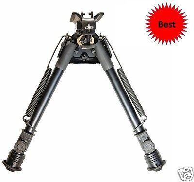 Harris Style Rifle Bipod Tiptop  Ez Pivot Pan Quickest Swivel Stud Mount 9 13