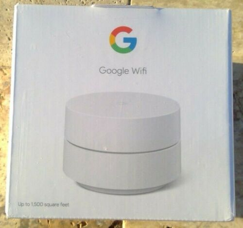 🌟🎈 Google Wifi Mesh Network System Router AC1200 Point 1-pack GA02430-US 🌟