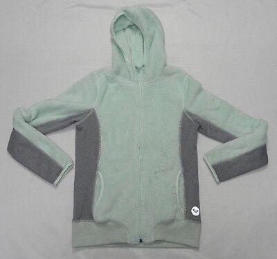 Roxy Woman Spot On Zip Up Sweater Hoodie Size Medium Roxy Spot