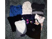 Lades / Womans Clothing Bundle. Size 16. Tops, Zipper, Dress, Swim Costume