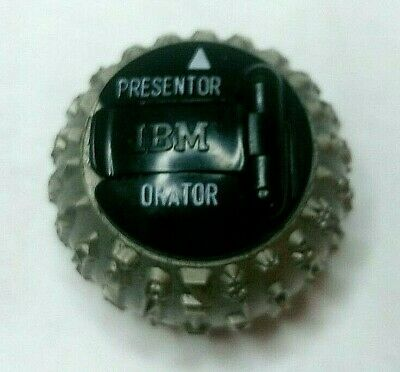 Ibm Selectric Typewriter Presentor Orator Ibm Font Ball