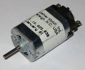 Buehler 12 V Dc 5800 Rpm Electric Motor 2 Mm Shaft Diameter