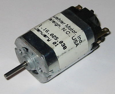 Buehler 12 V Dc - 5800 Rpm Electric Motor - 2 Mm Shaft Diameter
