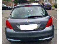Peugeot 207 1.4 16v Sport Facelift model 90 Bhp 8 months mot Hpi clear Reliable car (2006 06)