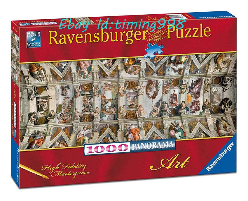 Ravensburger London/'s Sumptuous Desserts 1000 Adult Decompression Puzzle Toy New