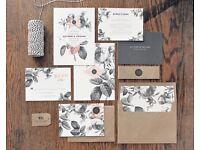 Bespoke Wedding Invitations -One Off Unique Designs